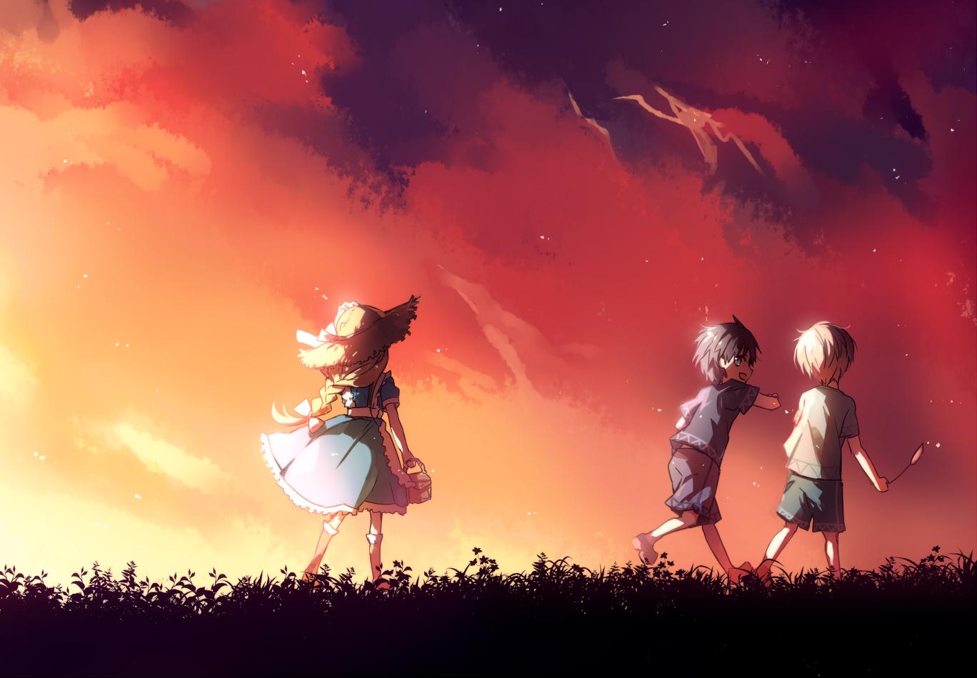 O passado de Kirito, Eugeo e Alice