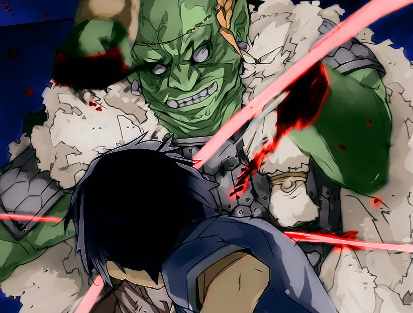 Ugachi - o matador de lagarto - Sword Art Online Alicization