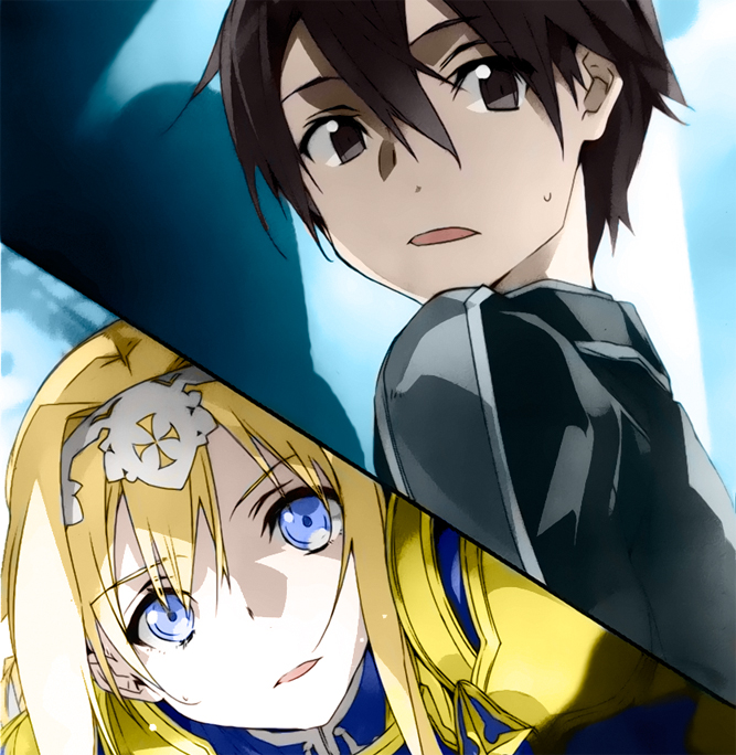 Sword Art Online Alicization - Dividing - Volume 13 - Alice e Kirito